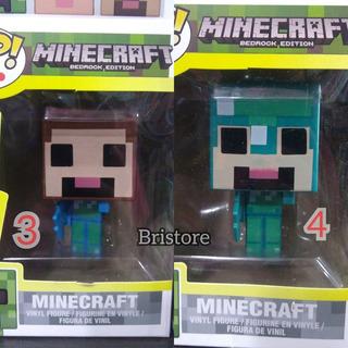 Funko Pop Minecraft Steve , Alex, Muchos Mas En Caja