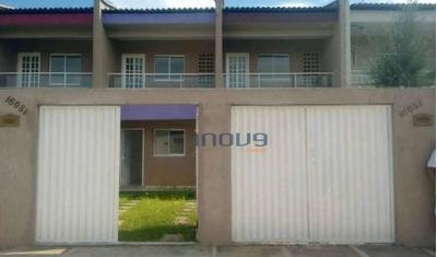 Casa Com 2 Dormitórios À Venda, 73 M² Por R$ 140.000 - Pajuçara - Maracanaú/ce - Ca0538