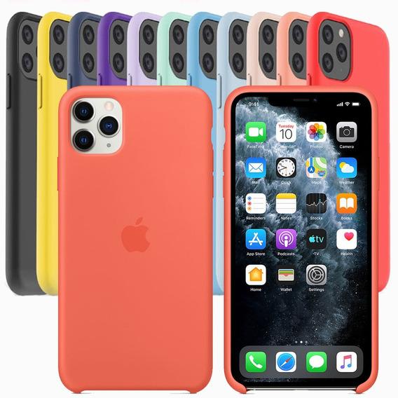 Funda iPhone 11 Pro Max Silicon Carcasa Apple Original 100%