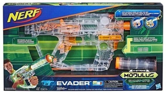 Brinquedo Hasbro Lancador Nerf Modulus Ghost Op Evader E1607