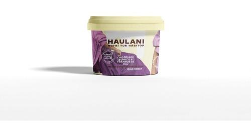 Imagen 1 de 6 de Helado Haulani Chocolate Blanco & Frambuesa X 120cc