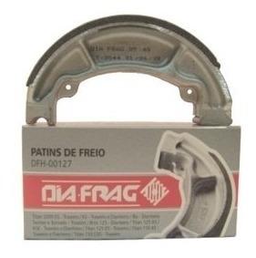 Patim De Freio Lona Diafrag Lead 110 Traseira