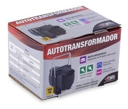 Autotransformador 500va - E/s: Bivolt (500va=300w)