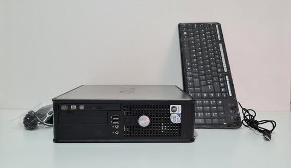 Cpu Dell 755sff Core 2 Duo Hd 160gb 4gb Ram