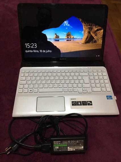 Notebook Sony Vaio I3 4 Gb Hd 500 Gb Tela De 15.6