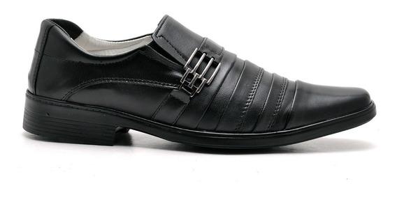 Sapato Anti Stress Masculino Com Amortecedor Couro Carneiro