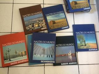 Livros Naçoes Do Mundo - 11 Volumes - Abril - Time Life