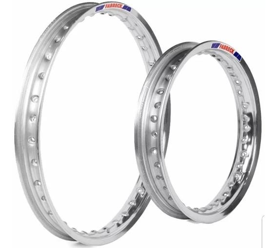 Par Aro Bros 125 150 160 Alumínio Polid + Par Raio Inox Bace