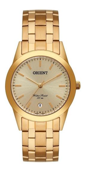 Relógio Orient Masculino Mgss1179 C1kx Aço Dourado Oferta