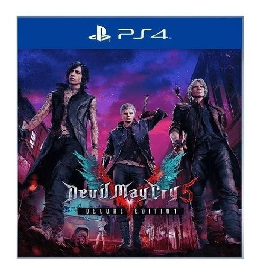 Devil May Cry 5 Deluxe Edition |ps4 | Envio Agora