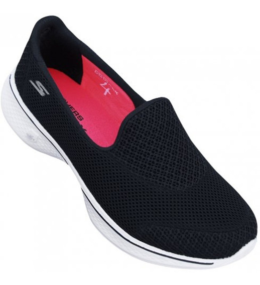 Tênis Skechers Go Walk 4 Propel Feminino 14170-bkw