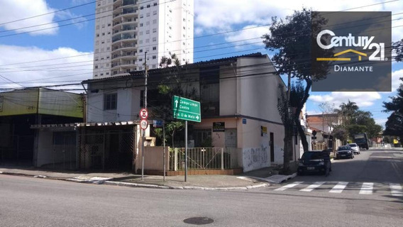 Casa Comercial À Venda, Vila Cruzeiro, São Paulo. - Ca0352