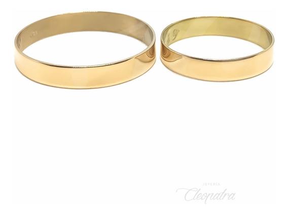 Alianzas Oro 18k 4gr Compromiso Casamiento Cinta