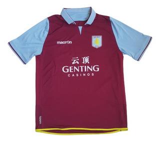Camisa Aston Villa 2012/2013 - Camiseta Macron Futebol