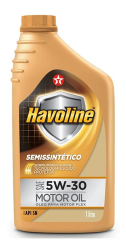 Imagem 1 de 2 de Óleo Motor Havoline 5w30 Sn Semi Sintético Texaco 1litro