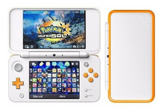New Nintendo 2ds Xl + 130 Juegos + 128 Gb + Temas + Cargador
