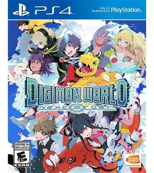 Digimon World Next Order Ps4 Mídia Física Lacrado Novo