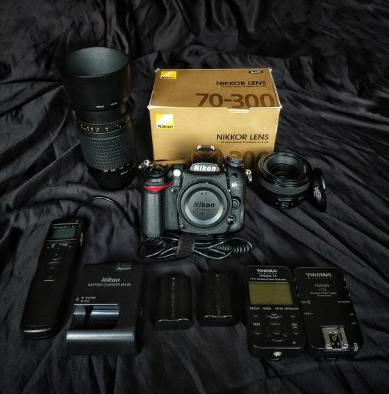 Nikon D7000 Em Muito Bom Estado + Acessórios