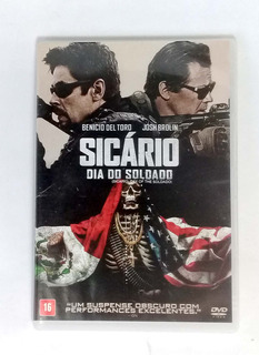 Dvd - Sicário - Dia Do Soldado - Original - Seminovo