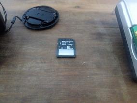 Câmera Sony Dsc-h200 20.1mp + Cartão 8gb + Carregador