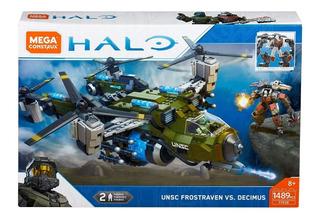 Halo Mega Construx Unsc Frostraven Vs Decimus 1489 Pz