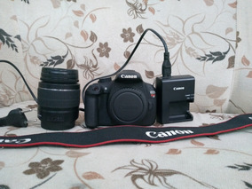 Câmera Canon Rebel T5 + Lente 18-55 + Carregador + Bateria