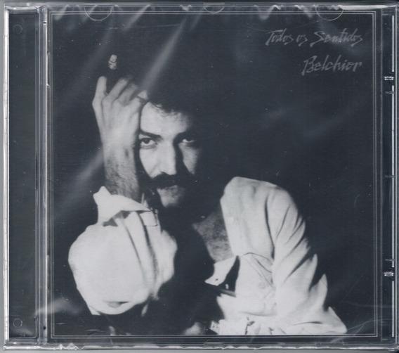 Belchior - Todos Os Sentidos ( Cd, 1978 / 2018 ) Usado
