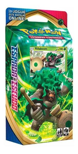 Card Game Pokémon Tcg Starter Deck Espada Escudo Rillaboom