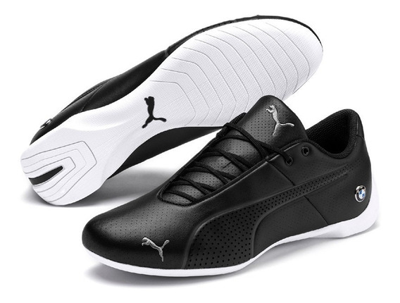 Tenis Puma Bmw Mms Future Cat Ultra Negros 100% Originales