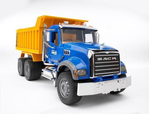 Camion Volcador Mack Escala 1:16 Bruder 2815 Made In Germany