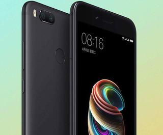 Celular Xiaomi Mi A1 4/64gb (4g Telcel Y At&t) Negro En Esp