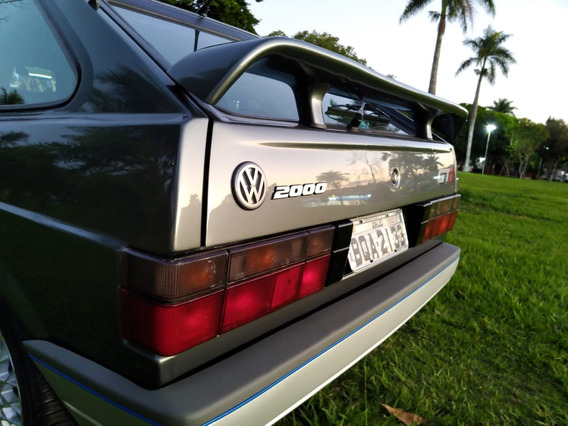 Volkswagen Gol Gti 2000 Cinza Spectrus Colecionador