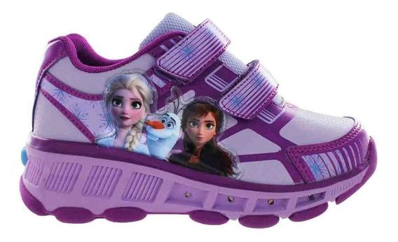 Tenis Patines Infantiles Con Personajes Disney