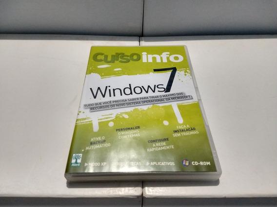 Dvd - Curso Info Windows 7 - ( Editora Abril )