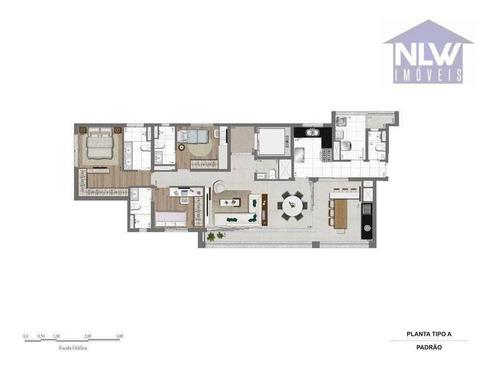 Apartamento Com 3 Dormitórios À Venda, 133 M² Por R$ 2.991.160,93 - Jardim Paulista - São Paulo/sp - Ap2655