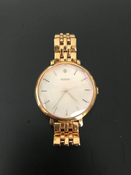 Relógio Fóssil Feminino Rosé
