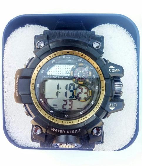 Relógio Masculino Militar Esportivo Resistente Barato