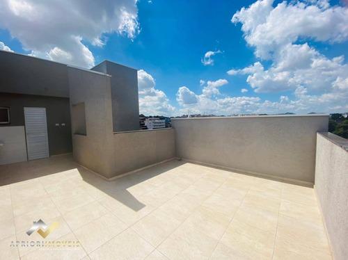 Cobertura Com 2 Dormitórios À Venda, 97 M² Por R$ 270.000,00 - Parque João Ramalho - Santo André/sp - Co0897