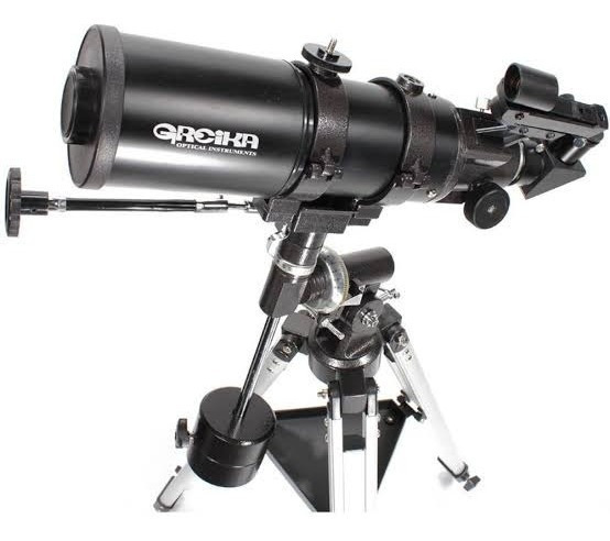 Telescopio Equatorial Refrator Com Tripé 400x80mm Bt400-80eq