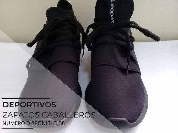 Zapatos Deportivos Para Caballeros Leopard Numero 38