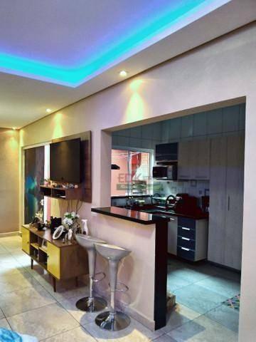 Imagem 1 de 12 de Casa Com 2 Dormitórios À Venda, 74 M² Por R$ 280.000,00 - Vila Paraíso - Caçapava/sp - Ca4908