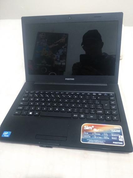 Novíssimo Notebook Positivo 500gb 4gb Ram 14 Wide