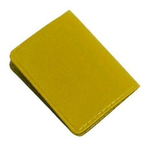 Imagem 1 de 4 de Carteirinha 3x4 600 Unidades - Amarela