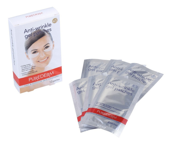 Purederm Anti-wrinkle Gel Patches Adesivo Para Olhos Blz
