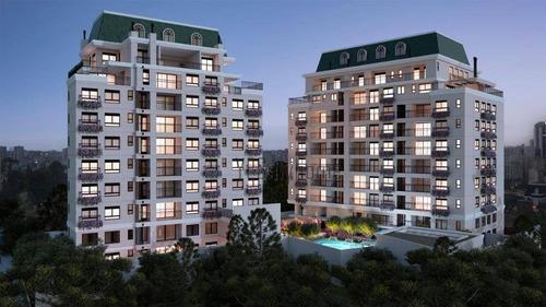 Apartamento Garden Com 3 Dormitórios À Venda, 106 M² Por R$ 1.165.900,00 - Alto Da Glória - Curitiba/pr - Gd0230