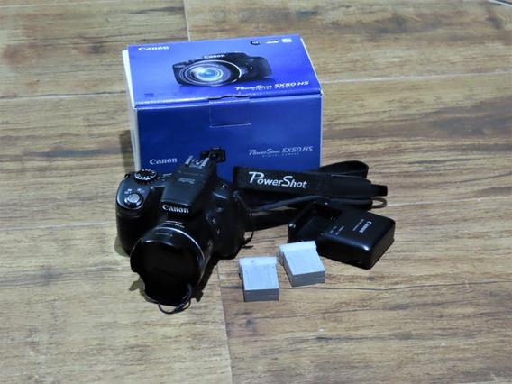 Canon Sx50hs Power Shot Em Perfeito Estado Exelente Escolha