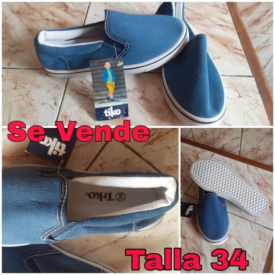Zapatos De Niños Unisex Talla 34