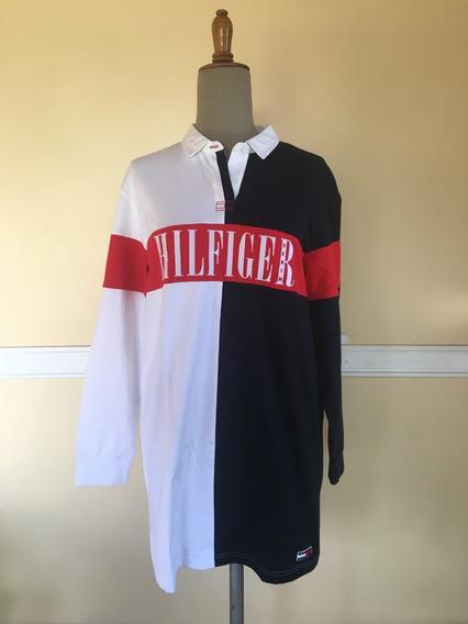Tommy Hilfiger - Vestido Corto Super Chic!! - 2018/9