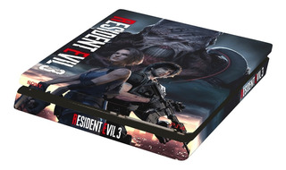 Resident Evil 2 Ps4 Skin Protector Playstation 4 Slim