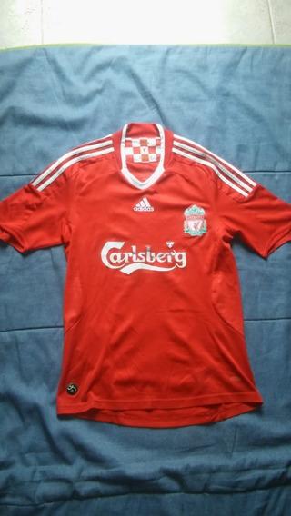 Camiseta Titular Liverpool 2008